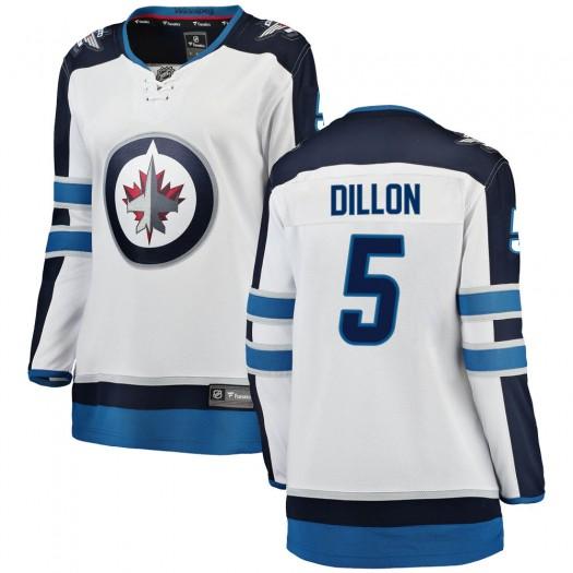 Brenden Dillon Winnipeg Jets Women's Fanatics Branded White Breakaway Away Jersey