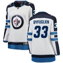 Dustin Byfuglien Winnipeg Jets Women's Fanatics Branded White Breakaway Away Jersey