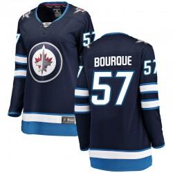 Gabriel Bourque Winnipeg Jets Women's Fanatics Branded Blue Breakaway Home Jersey