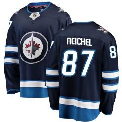 Kristian Reichel Winnipeg Jets Men's Fanatics Branded Blue Breakaway Home Jersey