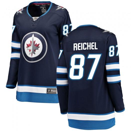 Kristian Reichel Winnipeg Jets Women's Fanatics Branded Blue Breakaway Home Jersey