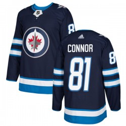 Kyle Connor Winnipeg Jets Men's Adidas Authentic Navy Jersey