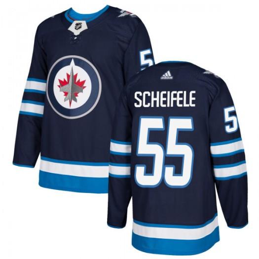 Mark Scheifele Winnipeg Jets Men's Adidas Authentic Navy Jersey