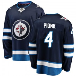 Neal Pionk Winnipeg Jets Men's Fanatics Branded Blue Breakaway Home Jersey