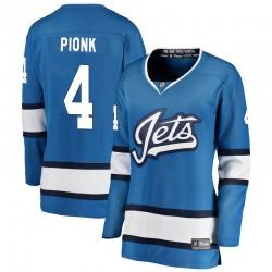 Neal Pionk Winnipeg Jets Women's Fanatics Branded Blue Breakaway Alternate Jersey