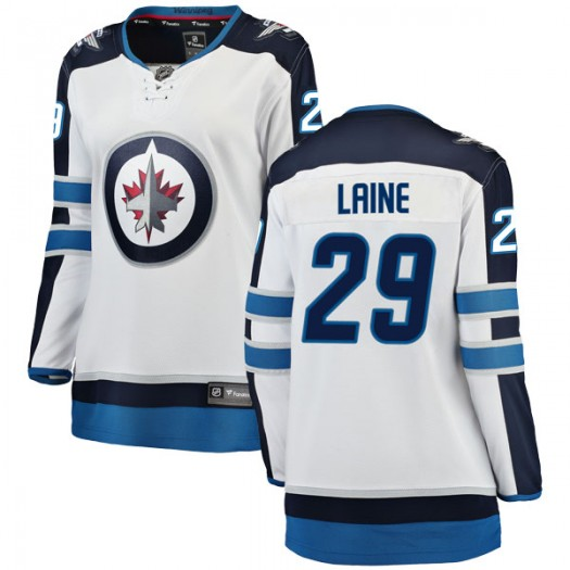 Patrik Laine Winnipeg Jets Women's Fanatics Branded White Breakaway Away Jersey