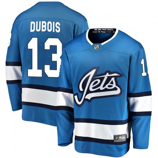 Pierre-Luc Dubois Winnipeg Jets Men's Fanatics Branded Blue Breakaway Alternate Jersey
