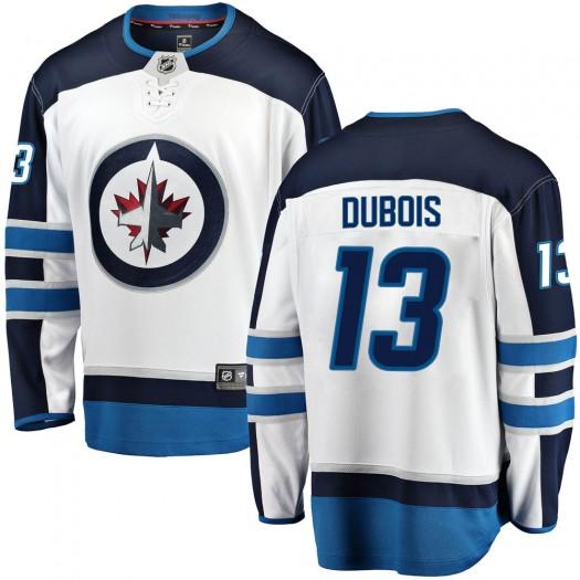Pierre-Luc Dubois Winnipeg Jets Men's Fanatics Branded White Breakaway Away Jersey