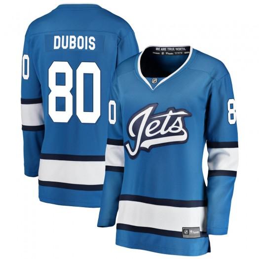 Pierre-Luc Dubois Winnipeg Jets Women's Fanatics Branded Blue Breakaway Alternate Jersey