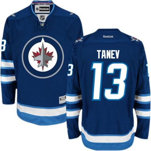 Brandon Tanev Winnipeg Jets Men's Reebok Authentic Navy Blue Home Jersey