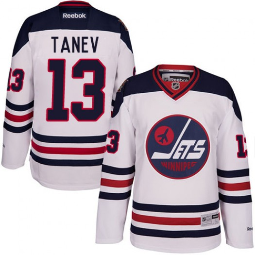 Brandon Tanev Winnipeg Jets Men's Reebok Authentic White 2016 Heritage Classic Jersey