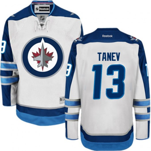 Brandon Tanev Winnipeg Jets Men's Reebok Authentic White Away Jersey
