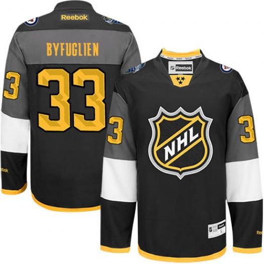 Dustin Byfuglien Winnipeg Jets Men's Reebok Authentic Black 2016 All Star Jersey