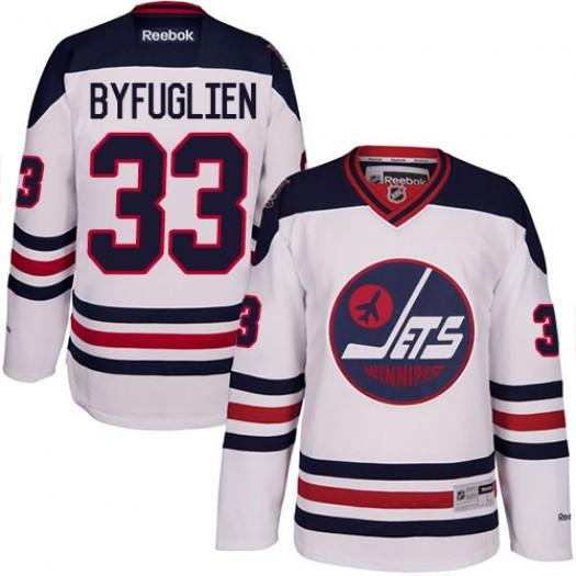 Dustin Byfuglien Winnipeg Jets Men's Reebok Authentic White 2016 Heritage Classic Jersey
