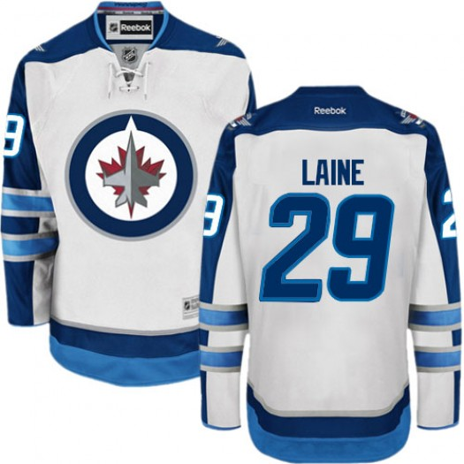 Patrik Laine Winnipeg Jets Men's Reebok Premier White Away Jersey