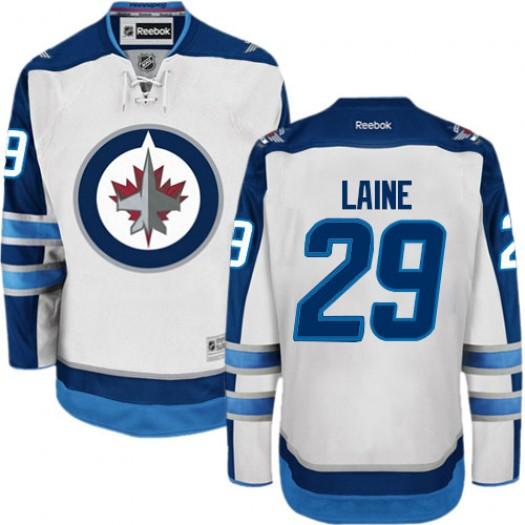 Patrik Laine Winnipeg Jets Women's Reebok Premier White Away Jersey