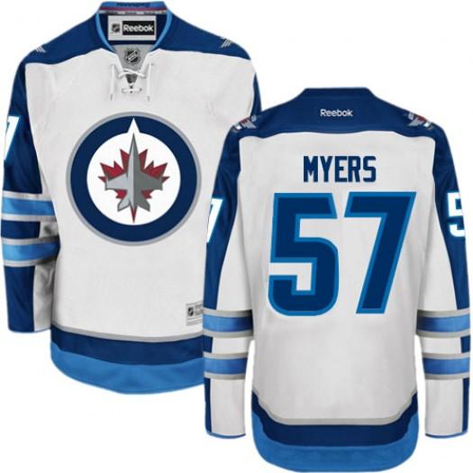 Tyler Myers Winnipeg Jets Men's Reebok Authentic White Away Jersey