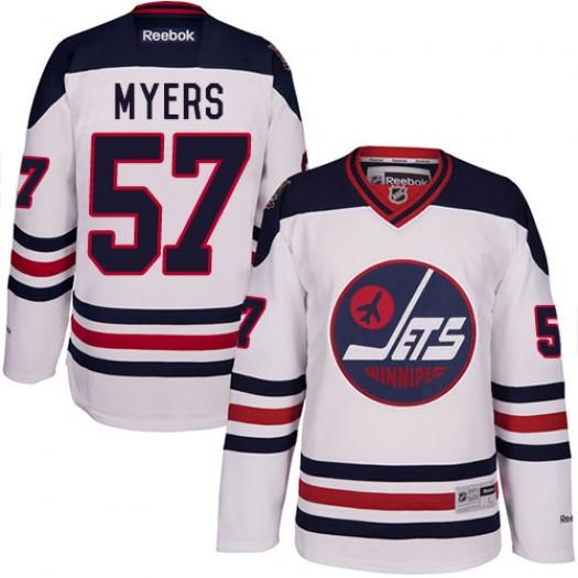 Tyler Myers Winnipeg Jets Men's Reebok Premier White 2016 Heritage Classic Jersey