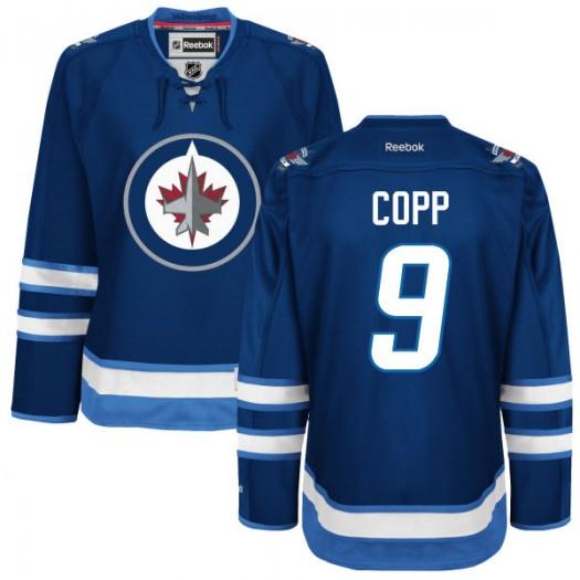 Andrew Copp Winnipeg Jets Women's Reebok Premier Navy Blue Home Jersey