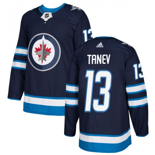 Brandon Tanev Winnipeg Jets Men's Adidas Authentic Navy Jersey